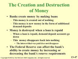 Image result for money is created out of nothing in banks