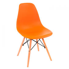 <b>Стул</b> деревянный <b>Eames PC</b>-<b>015 Оранжевый</b> - купить за 2410 ...