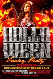 Free Halloween Flyer Template Download Xtremeflyers