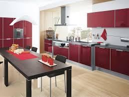 Red Kitchen Accessories Red Kitchen Design Ideas Zampco