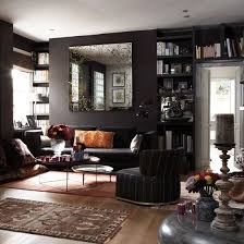30 dark moody living room décor ideas