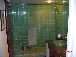 glass tile bathroom walls 6