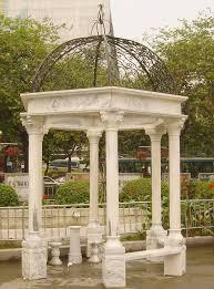 garden pillars. Superb Garden Pillars Marble Gazebo Outdoor Marbles Gazebos Italian Carved Stone T