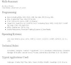 Technical Skills List For Resume Simple Skills Resumes It Manual Guide Example 48