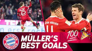 Marking 100 Bundesliga Goals: The Best of Thomas Müller! 💯 - YouTube