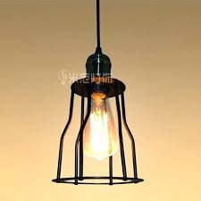 edison bulb pendant light kit large glass diy tumbler lighting outstanding black cable unique style bird