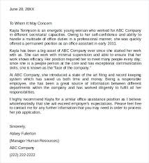 cover letter recommendation letter of recommendation word template for recommendation letter