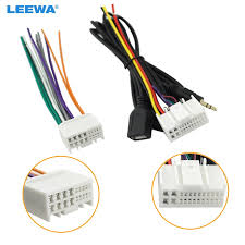 online buy whole kia wiring harness from kia wiring car audio cd stereo wiring harness adapter usb aux 3 5mm plug