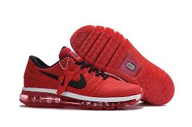 nike running shoes white air max. nike air max 2017 mens shoes bright crimson/black/white 849560-080 running white