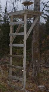 pvc deer feeders relevant to my interests homemade this group of deer stand plans will guide you along diagrams and instructions for building a standing deer stand or one up in a tree