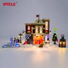 Details About Led Light Up Kit For Lego 10263 Creator Winter Village Fire Station Lighting Set