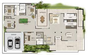 new acreage house plans australian corner block house for australian style house plans