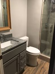 Condo Bathroom Remodel Magnificent Two Beautiful Bathroom Remodels One At A Time Networx