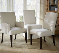 dining chairs upholstered. Perfect Dining PB Comfort Square Upholstered Dining Chairs And T