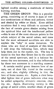 Astral Candle Color Charts The Project Gutenberg Ebook Of The Human Aura By Swami