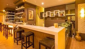 wallcovering ideas for kitchen bar wall decoration ideas