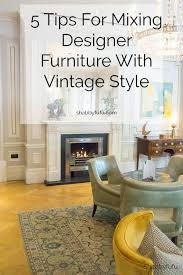 Image Hudson Best Tips For Mixing Designer Furniture With Vintage Pieces In Your Home Decor interiors furniture design decor designertips decorating Living In Shoebox Tips For Mixing Designer Furniture With Vintage Style Crafts