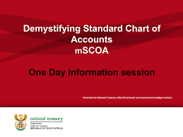 National Standard Chart Of Accounts Demystifying Standard Chart Of Accounts Scoa One Day