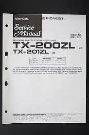 pioneer tx 200zl tx 201zl original additional service manual pioneer tx 200zl tx 201zl original additional service manual wiring diagram o105