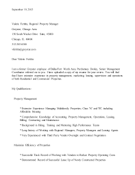 Apartment Manager Cover Letter Examples Lezincdc Com