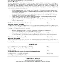 Resume Objective Restaurant Best of General Manager Resume Sample Restaurant Manager Resume Sample Image