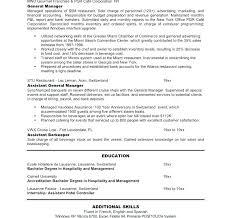 Resume For Masters Application Sample Best of General Manager Resume Sample Restaurant Manager Resume Sample Image
