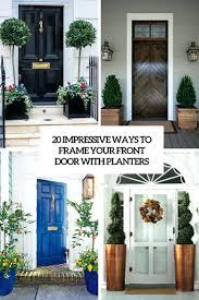 Front Porch Planter Ideas Full Sun Home Door Ideas Front Door Planters Uk  20 Impressive Ways