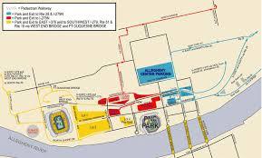 Pnc Park Chart Pnc Park Parking Guide Tips Maps Deals Spg