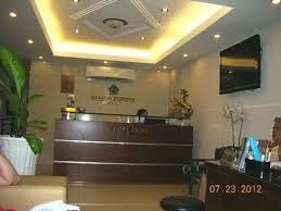 Saigon Europe Hotel: small but cozy reception area