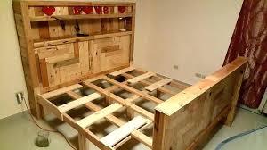 Image Bed Frames Full Size Pallet Bed Plans King Size Pallet Bed Frame Furniture Instructions Queen Size Pallet Bed Spafurnishcom Full Size Pallet Bed Plans King Size Pallet Bed With Mattress