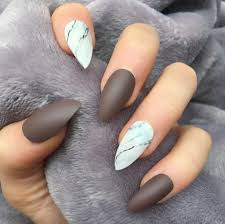 Fall Nail Designs 2018 Matte Brown Nails Best Nail Designs 2018 Fall Acrylic