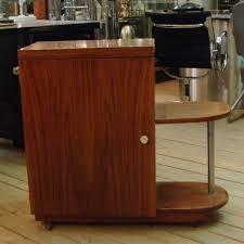 01332 Aufklappbarer Art Deco Barschrank Wandel Antik