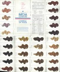 24 Clairol Professional Hair Color Chart
