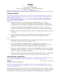 examples of a career summary experience resumes examples of a career summary