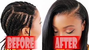 Braid Pattern For Sew In With Side Part