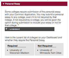 u of m office of admissions common app faq common app essay question