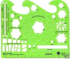 landscape design tool. Landscape Design Tool Landscaping Garden Template Stencil Drawing Skin Art . A