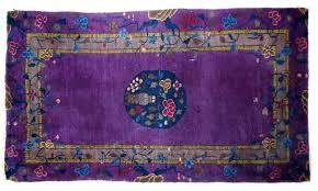 antique art deco chinese rug 1920s 2