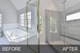master bathroom remodels before and after. Simple Remodels Carl U0026 Susanu0027s Master Bath Before After Pictures  Home Remodeling  Contractors Sebring Design Build Throughout Bathroom Remodels And E