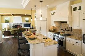 Image Of: Living Room Open Kitchen Ideas