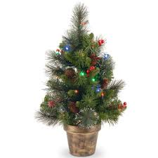 Delightful Ideas Mini Christmas Tree With Lights National Company Miniature Christmas Tree With Lights