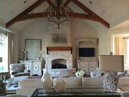 French Country Living Room rustic-living-room