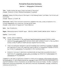 Short Formal Report Format Sample Resume Templates Essay On In Doc