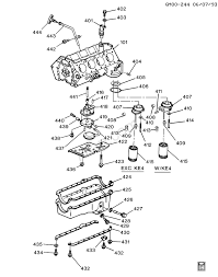 Gm parts diagrams with part numbers 1994 1996 b engine asm 4 3l v8 part 4