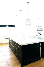 pendant lighting height above kitchen island modern for
