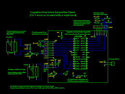 circuit diagram relay and optional push on