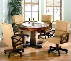 rolling dining chairs. Rolling Dinette Chairs Swivel Club With Casters Coasters Cheap Dining