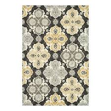 loloi francesca charcoalcolor round indoor handcrafted area rug common actual 3