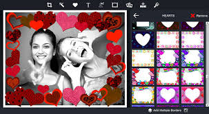 photo editor borders and frames