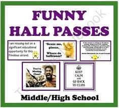 Hall Passes Printable High School Pass Template Jagraj Co